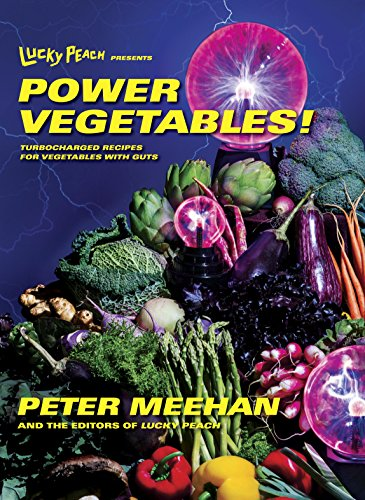 De cover van Lucky Peach presents Power Vegetables van Peter Meehan