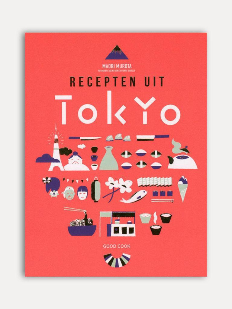Cover van het kookboek Recepten uit Tokyo van Maori Murato