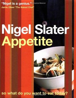 De cover van Nigel Slater's kookboek Appetite