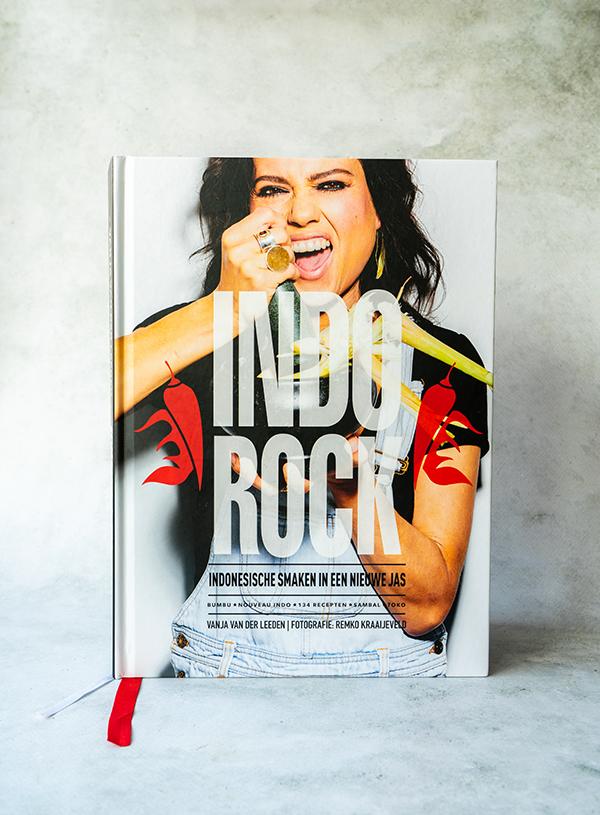 De cover van Indorock van Vanja van der Leeden